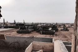 حزب الله يقيم عرضاً عسكرياً ضخما في القصير السوريّة