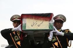 İranlı muhabir son yolculuğuna uğurlandı