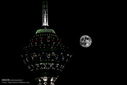Supermoon in Iran's sky