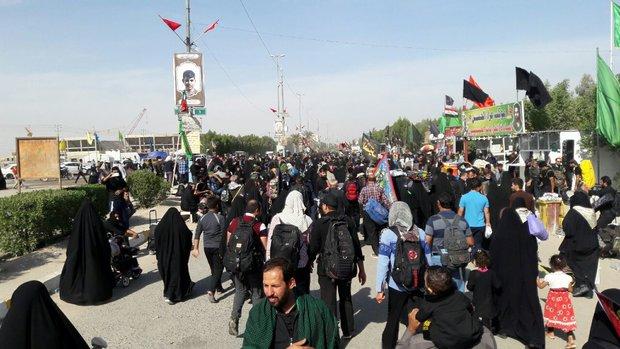 Thousands of Iranians set off Arbaeen pilgrimage