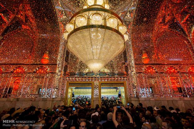Imam Ali's shrine on eve of Arbaeen