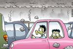 آلودگی هوا سوژه «طنز گلستانه» میشود