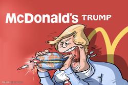 جریان اعتراضی کاریکاتوریستها به پیروزی ترامپ