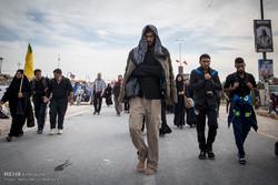 راهپیمایی زائران اربعین حسینی از نجف به کربلا/راهپیمایی اربعین ۲۶