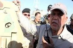 العامري يوضح أسباب إيقاف تقدم الحشد الشعبي باتجاه الحدود السورية