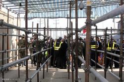 حضور زائران در مرز شلمچه