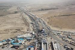ازدحام مرز مهران