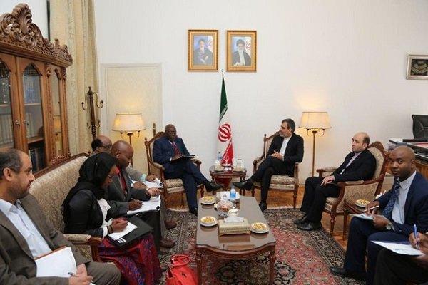 مساعد وزير خارجية زيمبابوي يلتقي جابري انصاري