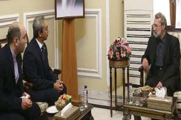 Larijani calls for further economic ties with Indonesia