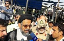 وزیر اطلاعات وارد مهران شد