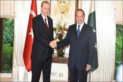 اردوغان: ترکیه از موضع پاکستان در قبال مسئله کشمیر دفاع می کند