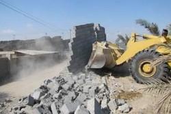 وقوع بیش از ۸ هکتار زمین خواری طی ۳ هفته در آبادان