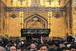 نجف اشرف میں حسینی زائرین کا حضور