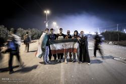 راهپیمایی زائران اربعین حسینی از نجف به کربلا/راهپیمایی اربعین ۳۲