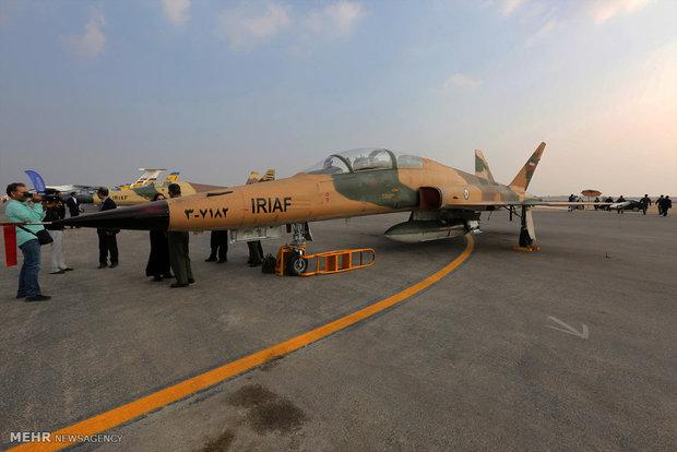 افتتاح المعرض الدولي الثامن للطيران والملاحة الجوية في جزيرة كيش