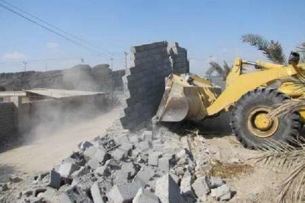 ۴۲۰۰ متر مربع اراضی ملی در کلاردشت رفع تصرف شد