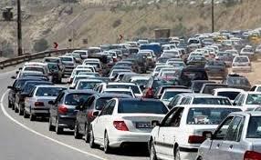 ترافیک در آزاد راه های زنجان سنگین است