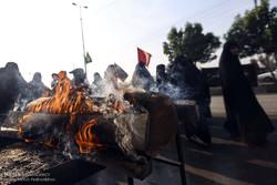 زائرین اربعین حسینی در مرز شلمچه