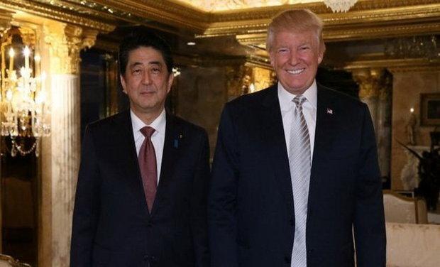 دیدار دوم «آبه» و «ترامپ» احتمالاً در فوریه ۲۰۱۷ برگزار می شود