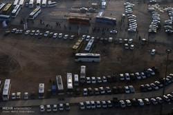 زائران خودروهای خود را در مسیر رها نکنند