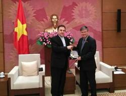 Iran, Vietnam consult over parliamentary ties