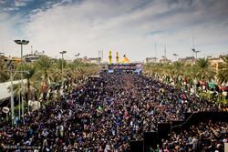 حرم حضرت اباعبدالله(ع) در آستانه اربعین حسینی
