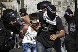 بازداشت نوجوان فلسطینی