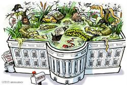 کاخ سفید در دوره ریاست جمهوری ترامپ