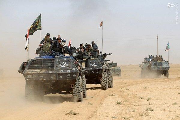 آزادی منطقه «الیابسات»/۴۰۰ هزار عراقی همچنان در محاصره داعش
