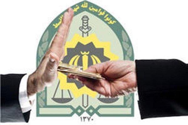 ماموران یگان امداد اصفهان رشوه پیشنهادی را صورتجلسه کردند