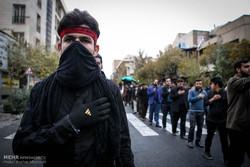 عزاداری دانشجویان از دانشگاه تهران تا حسینیه امام خمینی(ره)