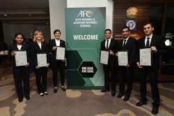 Faghani receives AFC 'Referee of the Year' award
