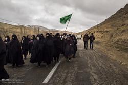 تشرف پیاده بیش از ۸ هزار نفر طرقبه شاندیزی به حرم مطهر ثامنالحجج