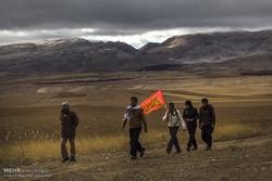 اعزام ۹ هزار زائر پیاده از قوچان به مشهد