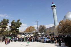 تعزیه خوانی اربعین حسینی در شهر یاسوج برگزار شد