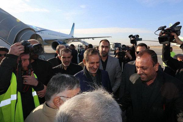مساعد الرئيس الإيراني يصل الى النجف الأشرف للمشاركة في أكبر استعراض اسلامي