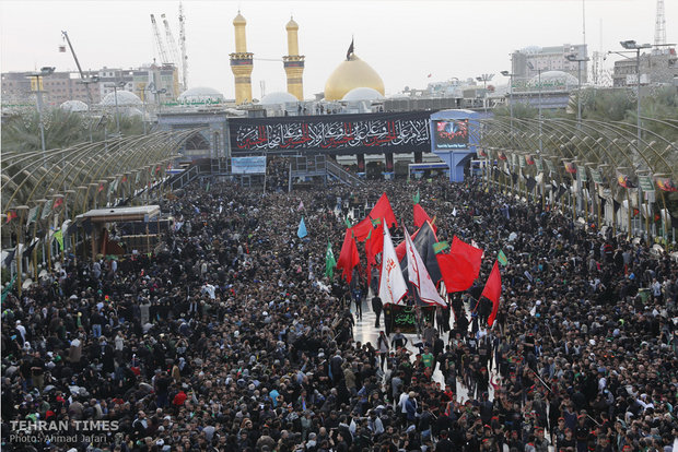 World's largest rally of devotion in Karbala