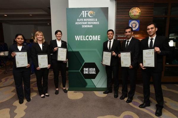 جایزه ویژه کنفدراسیون فوتبال آسیا به علیرضا فغانی