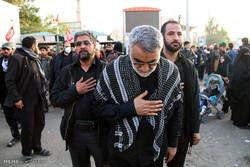 حضور علاءالدین بروجردی رئیس کمیسیون امنیت ملی و سیاست خارجی مجلس در پیاده روی اربعین
