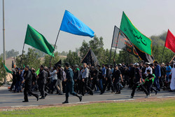 Arbaeen march in Kish Island