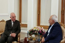 Zarif meets with AU Com. for peace in Tehran