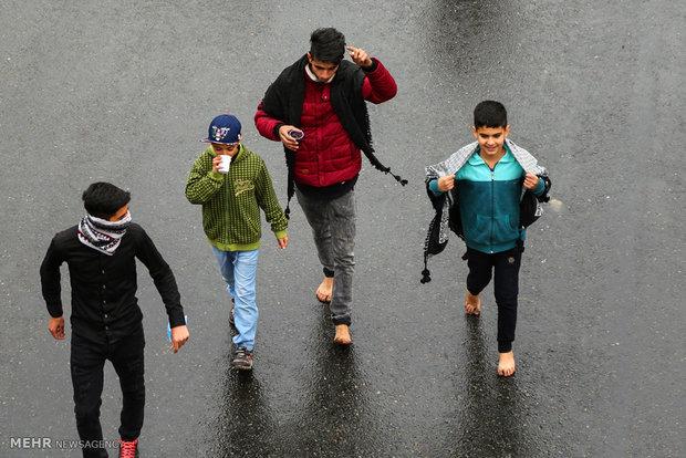 مراسم پیاده روی اربعین حسینی در تهران