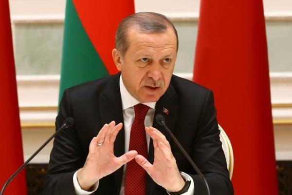 اردوغان: ارتش ترکیه برای سرنگونی حکومت «بشار اسد» وارد سوریه شد
