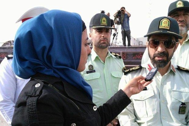 2281344 - اوج برگشت زوار را پشت سر گذاشتیم/فعالیت۳۰هزار نیروی پلیس طی امسال