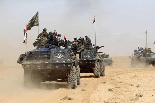 الانبار کے مغربی حصہ میں حشد الشعبی کی بڑی کارروائی