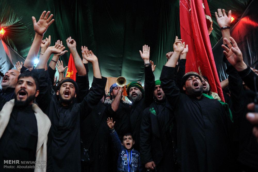 حال و هوای کربلای معلی در ایام اربعین حسینی / راهپیمایی اربعین ۴۹