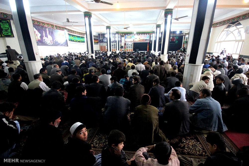 مراسم اربعین حسینی در هرات افغانستان