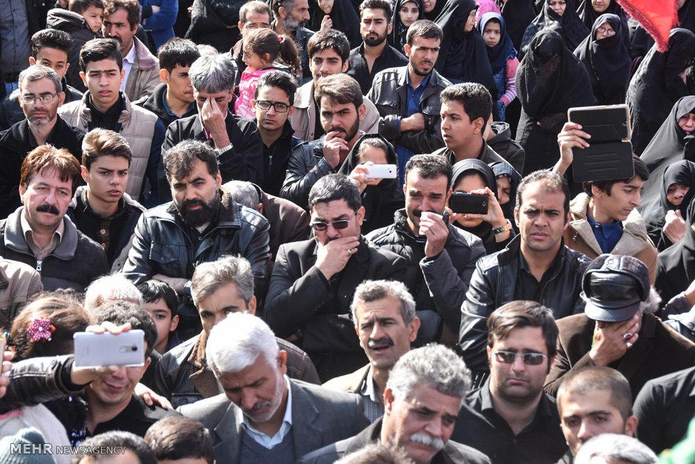 مراسم عزاداری اربعین حسینی در شهرضا اصفهان