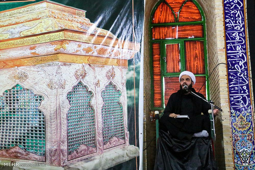 مراسم عزاداری اربعین حسینی در هشت بندی هرمزگان