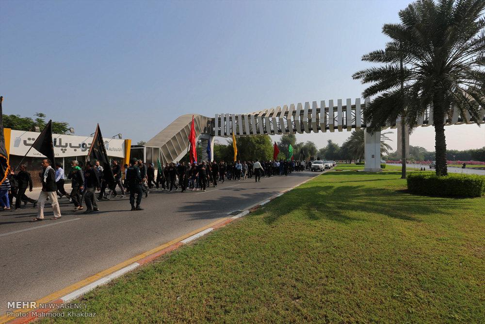 مراسم پیاده روی اربعین حسینی در جزیره کیش